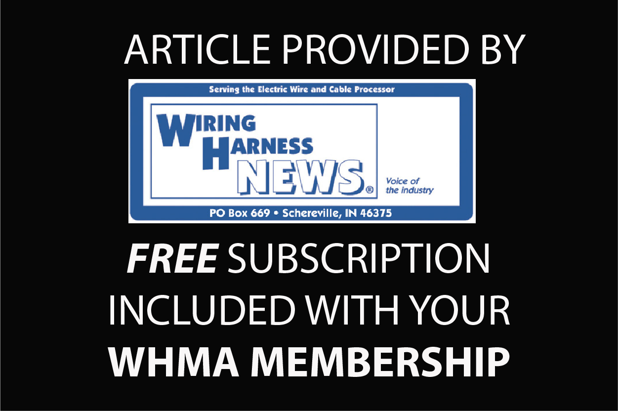 wiring harness news wiring harness manufacturer s association rh whma org Engine Wiring Harness wiring harness new holland ts100